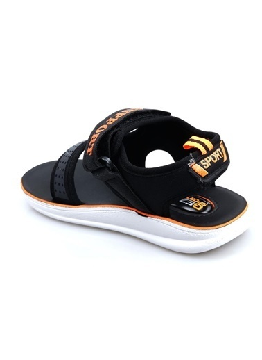 Gezer 00066 Erkek Çocuk Sandalet Siyah